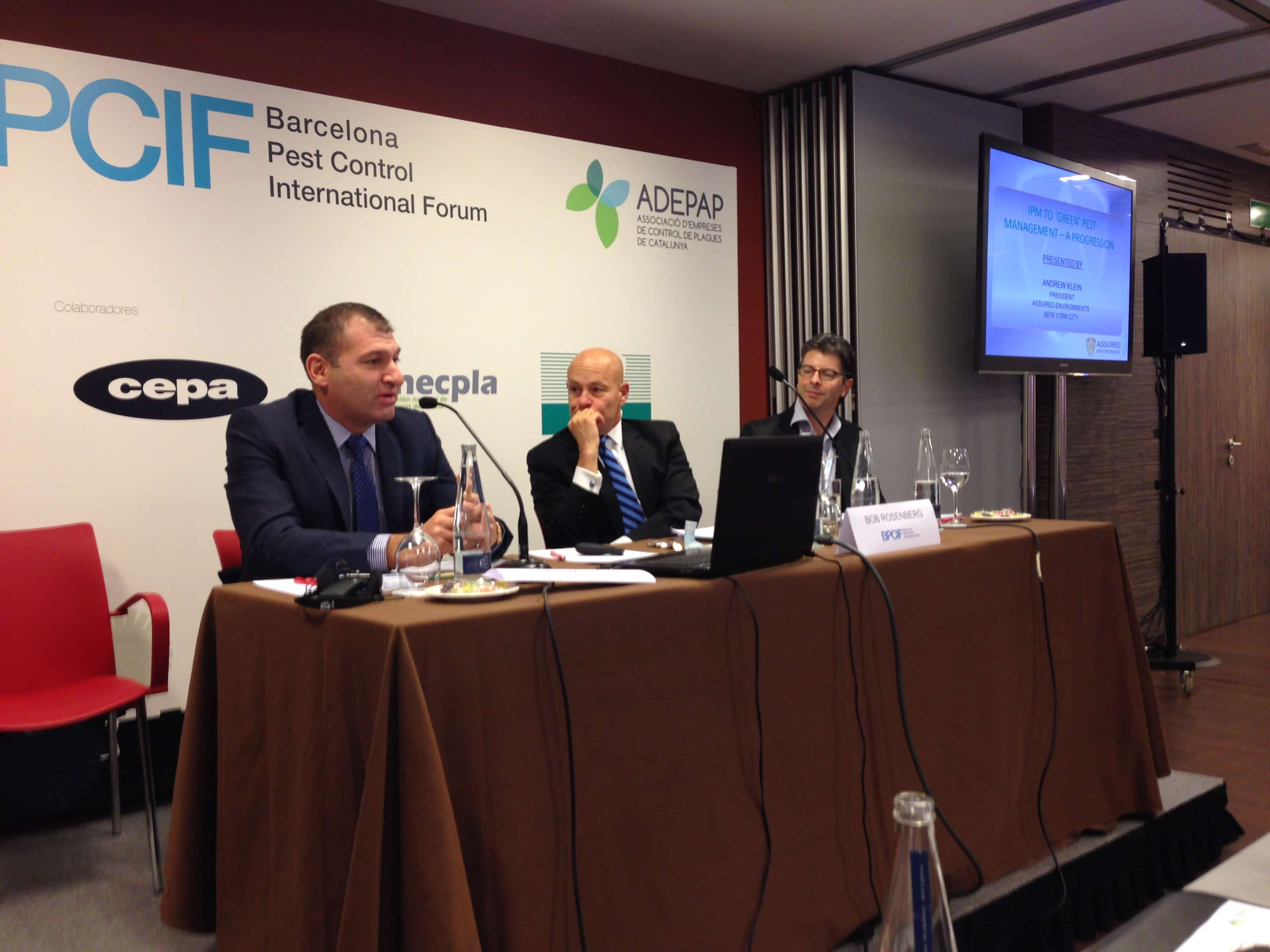 CEO Andrew Klein at the BPCIF in Barcelona
